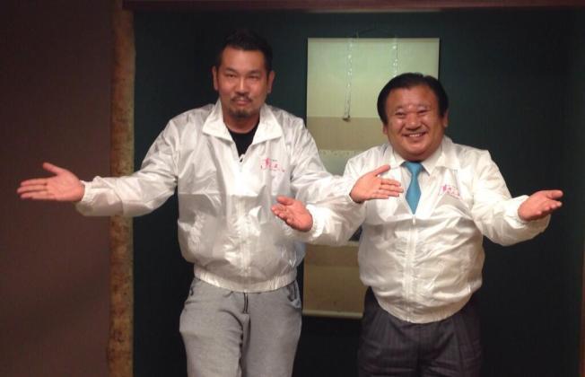 木村社長とフジモン合体による「ダブルすしざんまい!!」