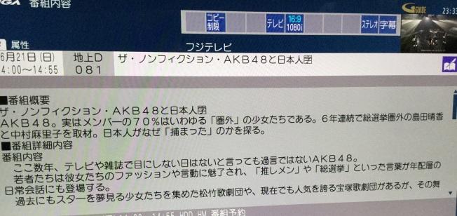 20150620島田晴香主演ドキュメンタリー詳細