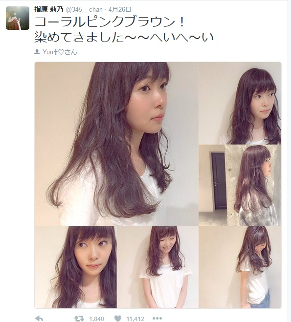 20160426指原 莉乃 on Twitter